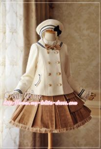--> New Released ❤♆☸~Sailor Style Lolita Winter Coats~❤♆☸ from Dear Celine --> Learn More >>> http://www.my-lolita-dress.com/newly-added-lolita-items-this-week/new-released-sailor-style-lolita-winter-coats-from-dear-celine