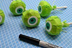 monsters university crafts | Mike, Monsters University, Eyes, Sharpie, Craft