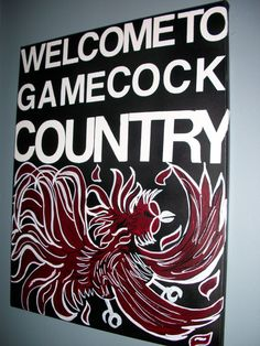 Welcome To Gamecock Country.
