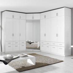 Built In Wardrobe Ideas Layout, Bedroom Built In Wardrobe, Corner Wardrobe, Wardrobe Room, Closet Layout, Wardrobe Interior Design, Wardrobe Door Designs, Bedroom Closet Design, Home Room Design