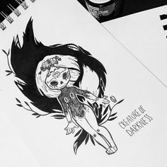 Inktober Day 1 #creatureofdarkness #witch #fox #illustration #sketch #doodle #drawing #ink #artwork #inktober2018 #inktober #dorothygranjo Fox Illustration, Ink Art, Inktober, Witch, Doodles, Drawings, Artwork, Instagram, Work Of Art