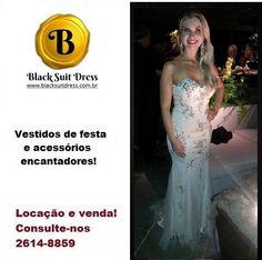 #vestidodefesta #madrinha #casamento #festa #estilo #sofisticação Aproveite 40% de desconto no site www.blacksuitdress.com.br