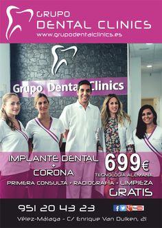 Grupo Dental Clinics en Vélez Málaga. ¡Equipazo!