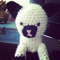 """""""Crocheted amigurumi kitty"""" #Amigurumi  #crochet"""