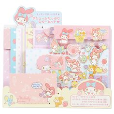 Sanrio - My Melody letter set