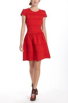 pintucked ponte dress aka the perfect day dress!