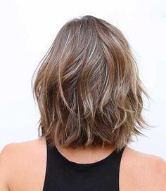 15 Short Shoulder Length Haircuts | http://www.short-haircut.com/15-short-shoulder-length-haircuts.html