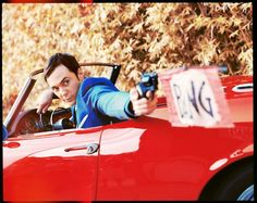 Jim Parsons is Sheldon Cooper in The Big Bang Theory