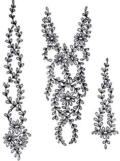 More free hand embroidery patterns - Pintangle