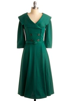 Emerald Green Fashion for Winter '13. Love this coat!