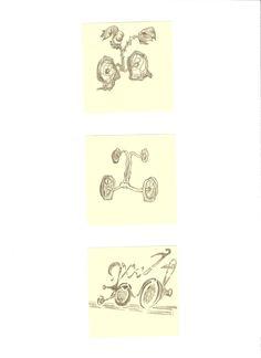28 disegno a matita su postit giallo