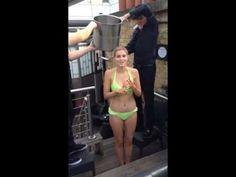 Freya and Ashley James support the #IceBucketChallenge - YouTube