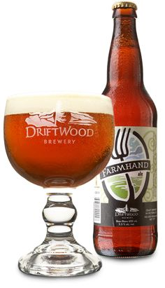 Farmhand Ale.  Every beer we try from Driftwood is amazing.  I like to think this beer is part of my cultural heritage.
