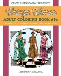 Fashion Design Coloring Books
