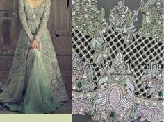 For details whatsapp me 00923064010486 Catwalk Collection, Bridal Collection, Dress Collection, Elan Bridal, Bridal 2015, Beaded Embroidery, Hand Embroidery, Embroidery Designs, South Asian Wedding