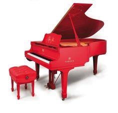 Red Piano        http://pinterest.com/cameronpiano