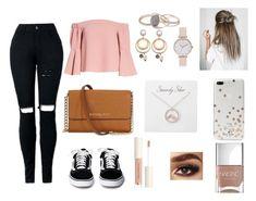 """Shopping"" by izadoradiniz on Polyvore featuring moda, Topshop, Michael Kors, Kate Spade, Miss Selfridge, Olivia Burton e Nails Inc."