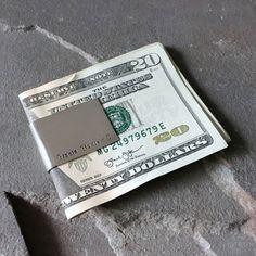 Personalized Monogrammed Money Clip, Custom Money Holder, Sterling Silver Money Slide Bar, Initial Money Clip Wallet, Groomsmen Gift, Grad by SilverSculptor on Etsy