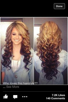 I want this hair length and hair color!