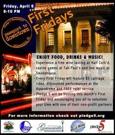 Free wine tasting at Half Corkd, casino games at Tall Pauls, and live music at Smokehouse! ufcontinuum jaymiebruehl