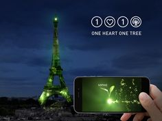 Case: 1 Heart 1 Tree 地球規模のエネルギー・気候変動問題について、各国が集まり、議論を行うCOP(国連気候変動枠組条約締約国会議)。第21回目となる今回は、12月にパリで開催