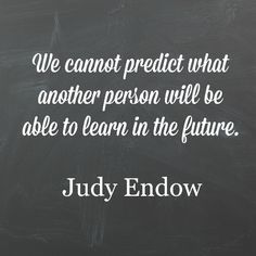 I have learned not to assume an #autistic person will never learn to do something. We cannot predict what another person will be able to learn in the future.