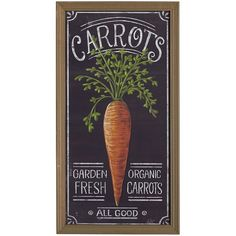 Pier 1 Imports Multi-colored Fresh Carrots Wall Decor ($36) ❤ liked on Polyvore featuring home, home decor, wall art, multicolor, garden wall art, colorful home decor, easter signs, pier 1 imports and colorful wall art