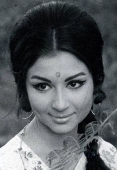 Sharmila Tagore Hairstyle