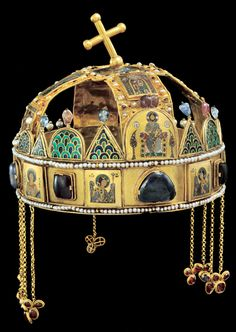 The Holy Crown of Hungary, also known as the Crown of St. Stephen