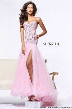 Sherri Hill Prom Dresses and Sherri Hill Dresses 21026 at Peaches Boutique