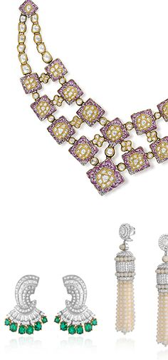 Opening at Saffronart, Delhi - Fine Jewels: A Festive Sale (July 26-29, 2012) | A collection of fine jewels set with diamonds and precious stones