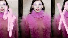 Backstage Pam Hogg SS18 and catwalk highlights.