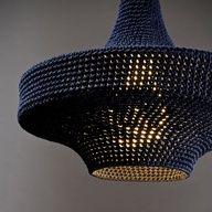 DIY Hæklet lampeskærm