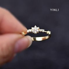 14K Gold Plated Eternity Thin CZ Band Rings Sterling Silver Engagement | Jewelry & Watches, Fashion Jewelry, Rings | eBay! #jewelryrings #JewelryRings