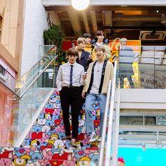 Credit to photo's owner. Repost by Rain. Do not delete. Jimin, Bts Bangtan Boy, K Pop, Taehyung, Seokjin, Namjoon, Line Friends, I Love Bts, About Bts