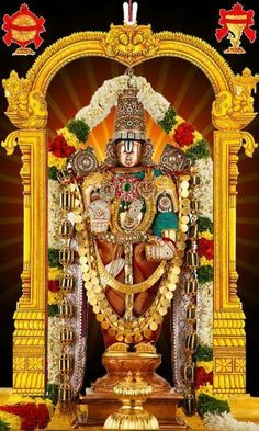 The Tirumala Tirupati Devasthanams (TTD) is planning to reintroduce Srivari darshan soon on a trial basis and enforce social distancing measures. The TTD had prohibited the entry of devotees since the commencement of the lockdown. Lord Krishna Images, Krishna Pictures, Hindus, Lord Murugan Wallpapers, Lakshmi Images, Lord Balaji, Lord Shiva Family, Lord Mahadev, Tanjore Painting