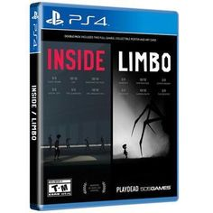 Inside Limbo Double Pack Ps4  #PS #PS4 #lol #PS3 #Share #Headsets #Games #photooftheday #friends #Discount
