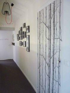 papier peint woods