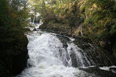 Swallow Falls, Snowdonia, Wales
