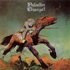 Paladin: Charge!: Well, literal - a horse charging. But it's no 'Octopus redux' - the horse seems vaguely cyborg-like, and the rider seems vaguely horsey. I don't get it, but interesting.