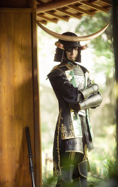 August(鎏年) Masamune Date Cosplay Photo - WorldCosplay