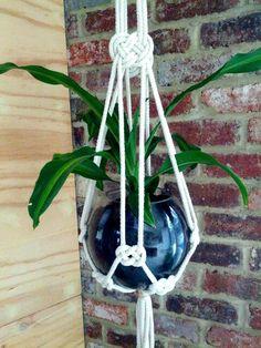 Macrame plant hanger  Lornaandlila.com.au