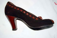 Vintage Womens Shoes - Fashion 1940s.org | The 1940s