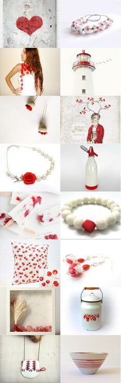 Red heart on white  by Gilberto Vavalà on Etsy--Pinned with TreasuryPin.com
