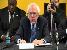 Bernie Sanders at Freddie Grey Empowerment Center 12/8/15  #FeeltheBERN