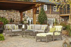 Klaussner Outdoor Outdoor/Patio Amure Loveseat W1300 LS - Klaussner Outdoor - Asheboro, NC