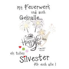 "90 faszinierende Bilder zu ""Silvester Sprüche"" in 2019 