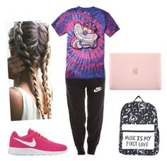 """""""Tired af"""" by janers123 on Polyvore featuring NIKE, Disney and Incase"""