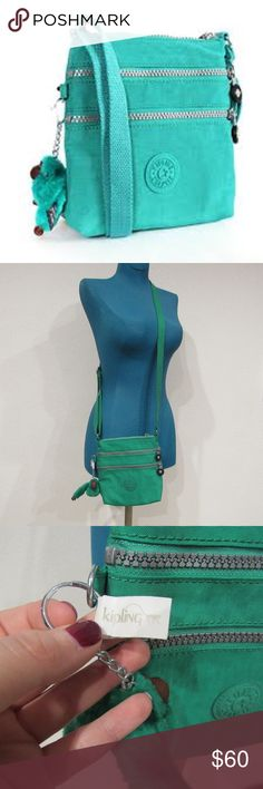 """NWT Kipling Crossbody NWT. 7"""" x 7.5"""" x 1"""" No trades. 1019 Kipling Bags Crossbody Bags"""