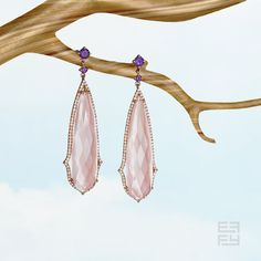 Coveting rose quartz blooms for spring. Style available by special order 1.877.ASK.EFFY